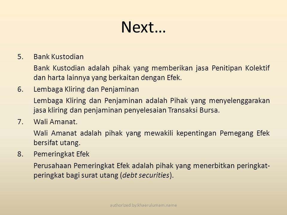 MANFAAT DAN RESIKO REKSADANA authorized by:khaerulumam.name