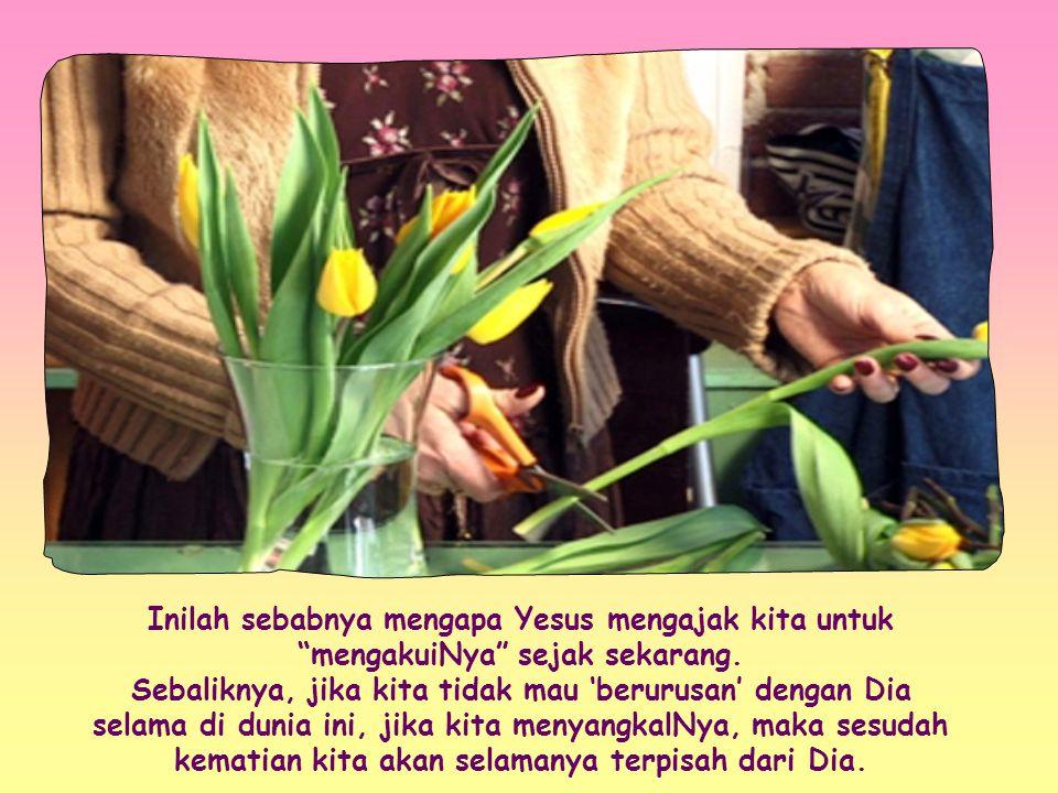 Yang terpenting bagiNya adalah agar kita dapat hidup bersama Allah untuk selamanya.