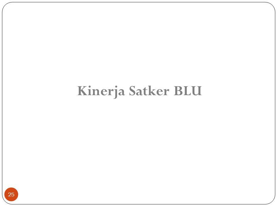 25 Kinerja Satker BLU