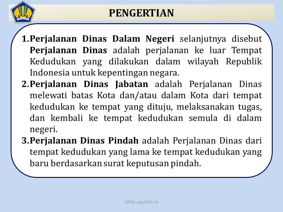 Format SPD Halaman 1 (Lampiran I PMK) Pada Keterangan lain-lain dicantumkan Nomor dan tanggal Surat Tugas KPPN JAKARTA IV