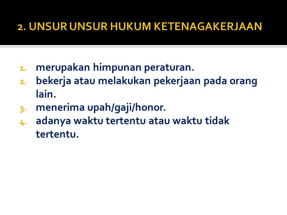  Rahmat adalah karyawan PT Makmur di Bandung tetapi Menado.