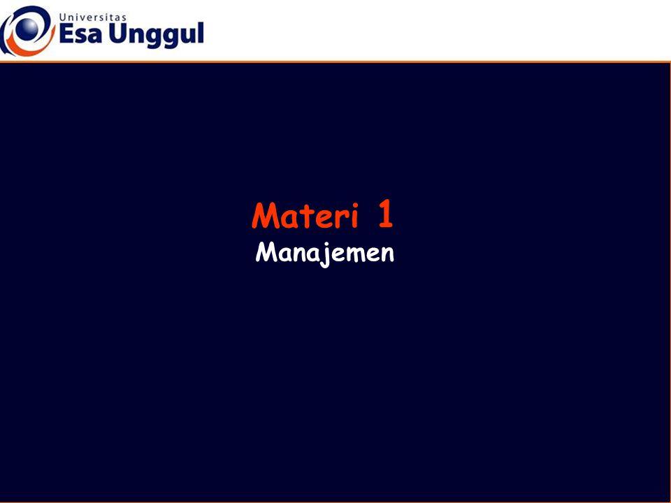 Materi 1 Manajemen