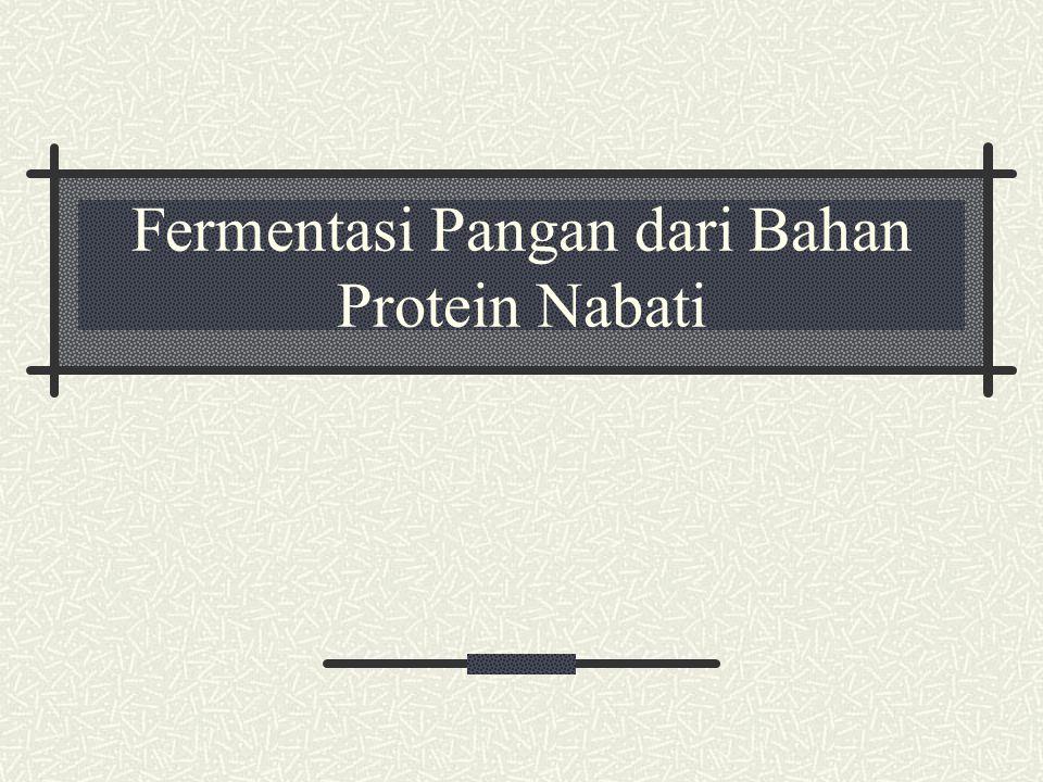 Fermentasi Pangan dari Bahan Protein Nabati
