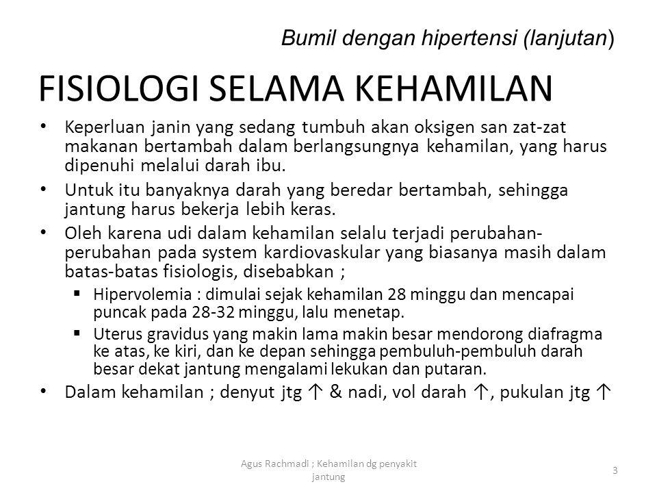 PATOFISIOLOGI Sims membagi hipertensi ; I.