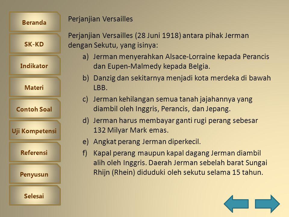 Beranda SK-KD Indikator Materi Contoh Soal Uji Kompetensi Referensi Penyusun Selesai II.Muncul politik aliansi (politik mencari kawan) III.Kekacauaan