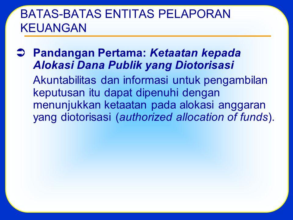 ENTITAS & KOMPONEN LAPORAN KEUANGAN Penambahan unsur-unsur Laporan Keuangan ditetapkan dalam Peraturan Menteri Keuangan dan/atau oleh komite yang menyusun SAP (ayat 4).