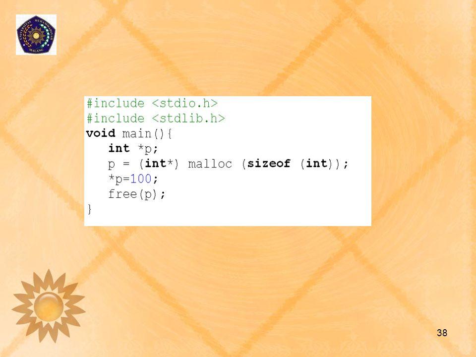 Exercise 1.[Poin:5]Buatlah sebuah array bertipe char huruf A-J.