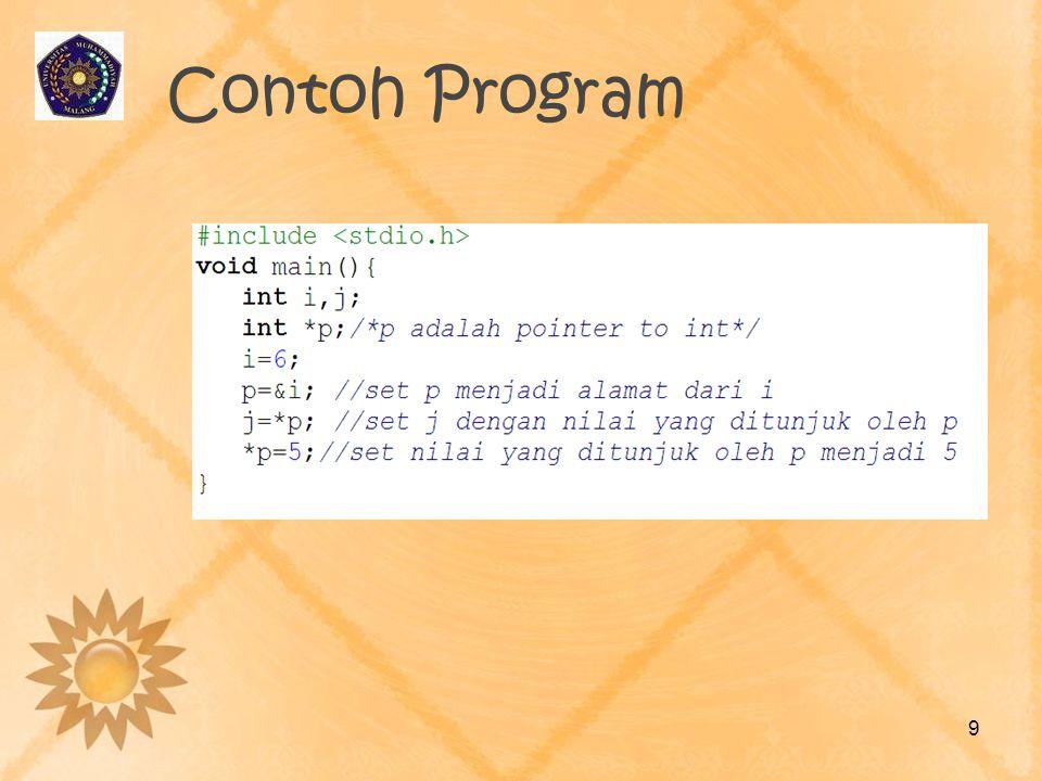 Contoh Program 9
