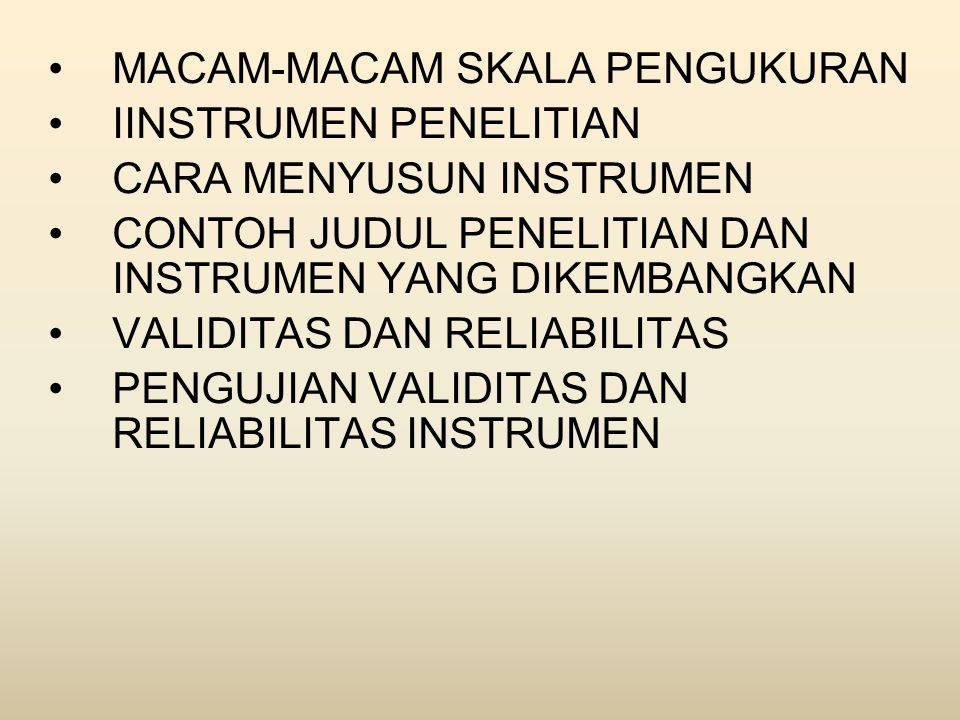•Dalam penelitian kuantitatif, peneliti akan menggunakan instrumen untuk mengumpulkan data sedangkan dalam penelitian kualitatif-naturalistik peneliti akan lebih banyak menjadi instrumen karena dalam penelitian kualitatif peneliti merupakan key instruments.