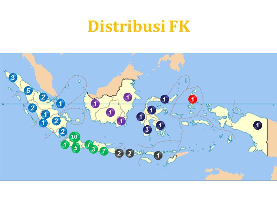 Distribusi FK 3 5 2 1 2 1 2 2 1 5 7 3 7 2 1 2 1 1 1 1 1 3 1 1 1 1 1 10 1