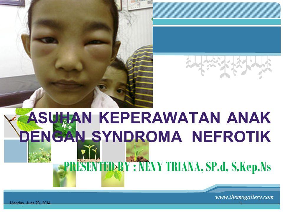 www.themegallery.com •Menurunnya respon imun karena sel imun tertekan, kemungkinan disebabkan karena hypoalbuminemia, hyperlipidemia atau defisiensi seng.