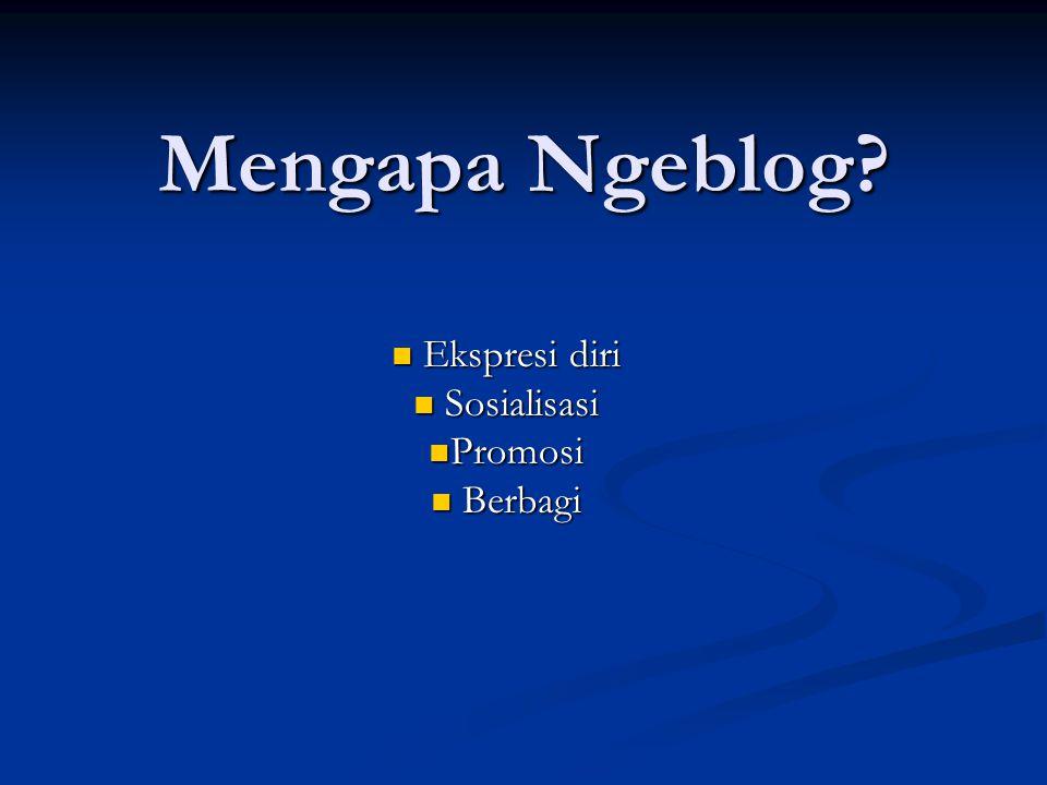Apa Manfaat Blog.