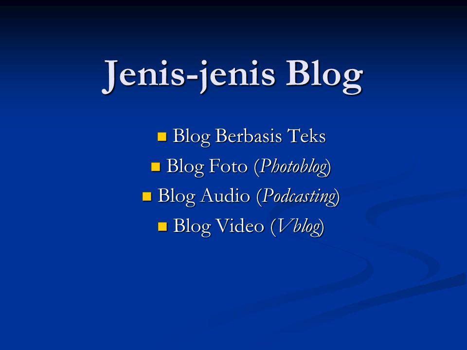 Jadi? Tidak Ada Ruginya Punya Blog, bukan? Ayo, Mulai Ngeblog dari Sekarang!