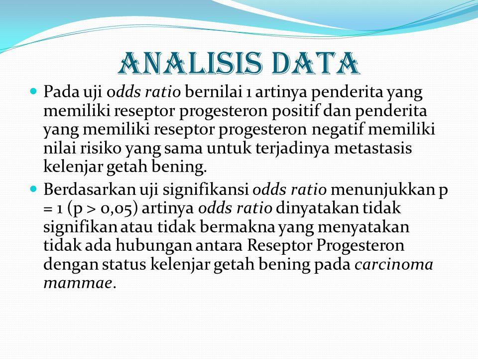  Hasil penelitian di atas sesuai dengan penelitian Ali Pourzand et al.