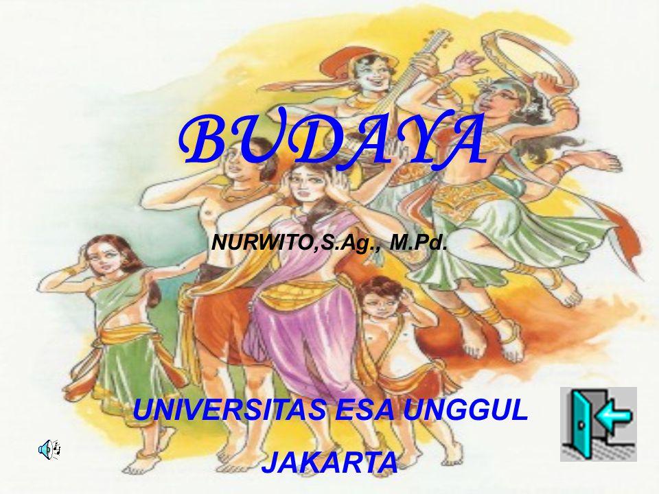 BUDAYA NURWITO,S.Ag., M.Pd. UNIVERSITAS ESA UNGGUL JAKARTA
