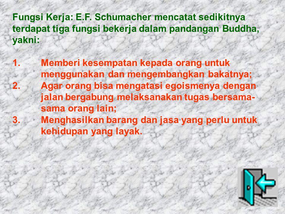 Fungsi Kerja: E.F.