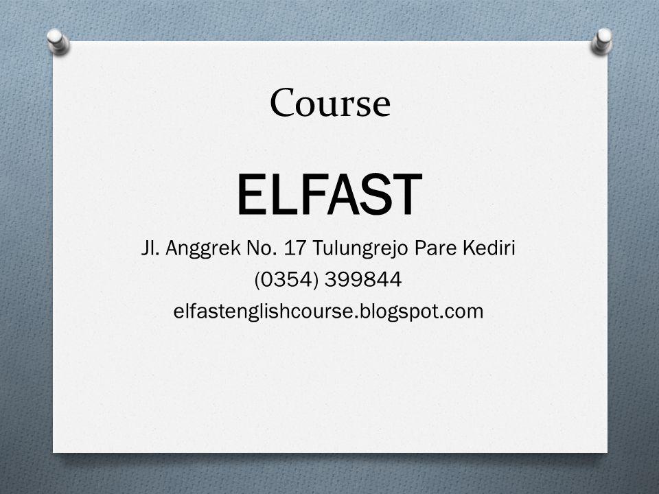 Course ELFAST Jl.Anggrek No.