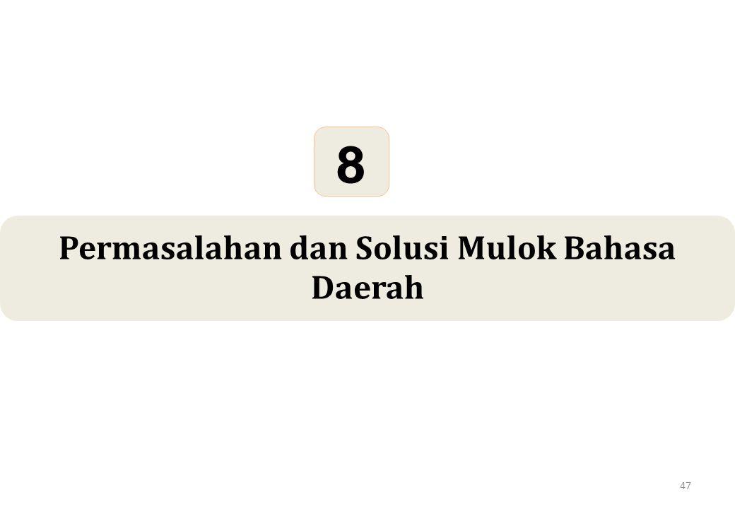 47 Permasalahan dan Solusi Mulok Bahasa Daerah 8