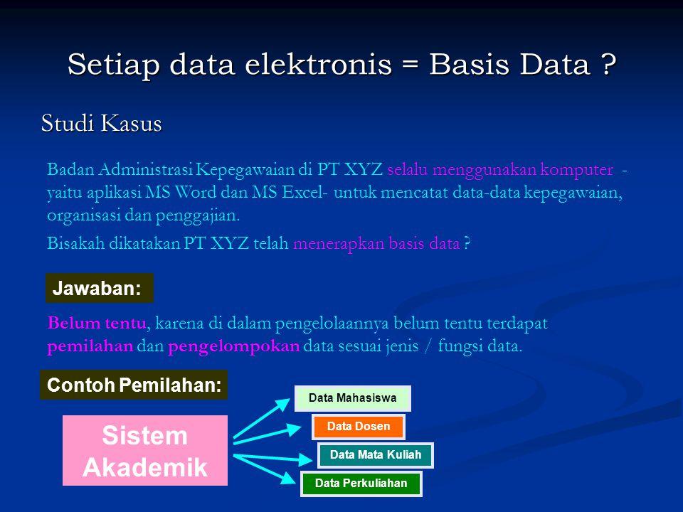 Bahasa Basis Data (3) Jenis DML: 2.