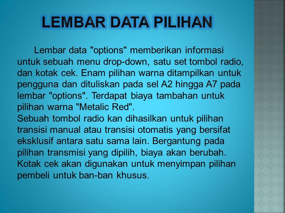 Lembar data