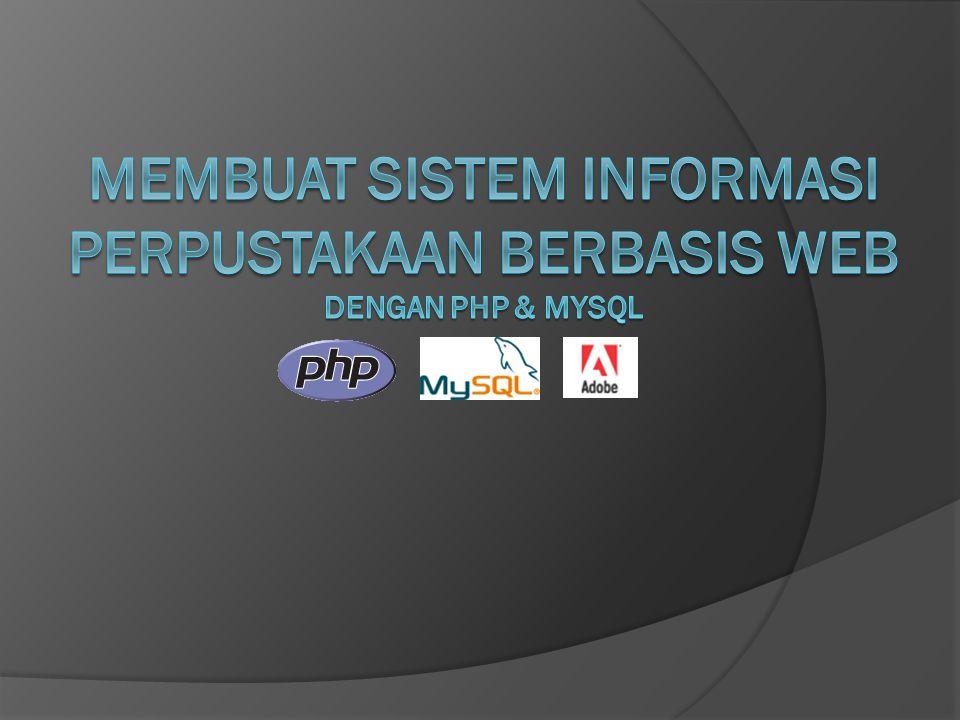 Cari-buku.php adalah file yang digunakan untuk menampilkan data buku yang kita cari melalui form pencarian.