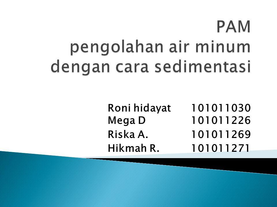 Roni hidayat101011030 Mega D 101011226 Riska A. 101011269 Hikmah R. 101011271