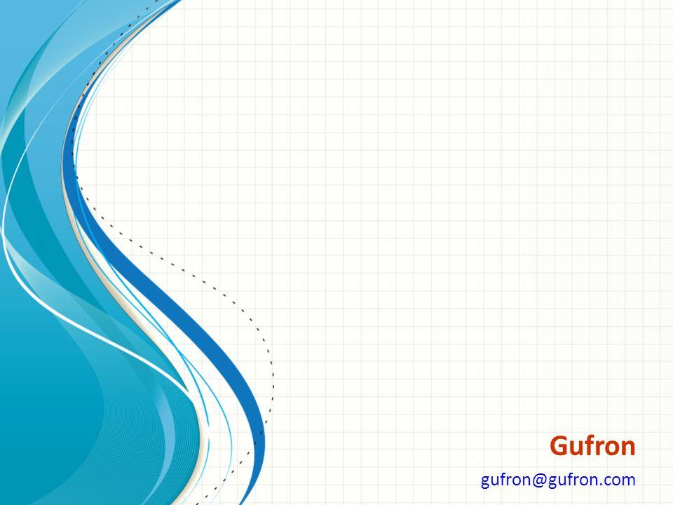 Gufron gufron@gufron.com