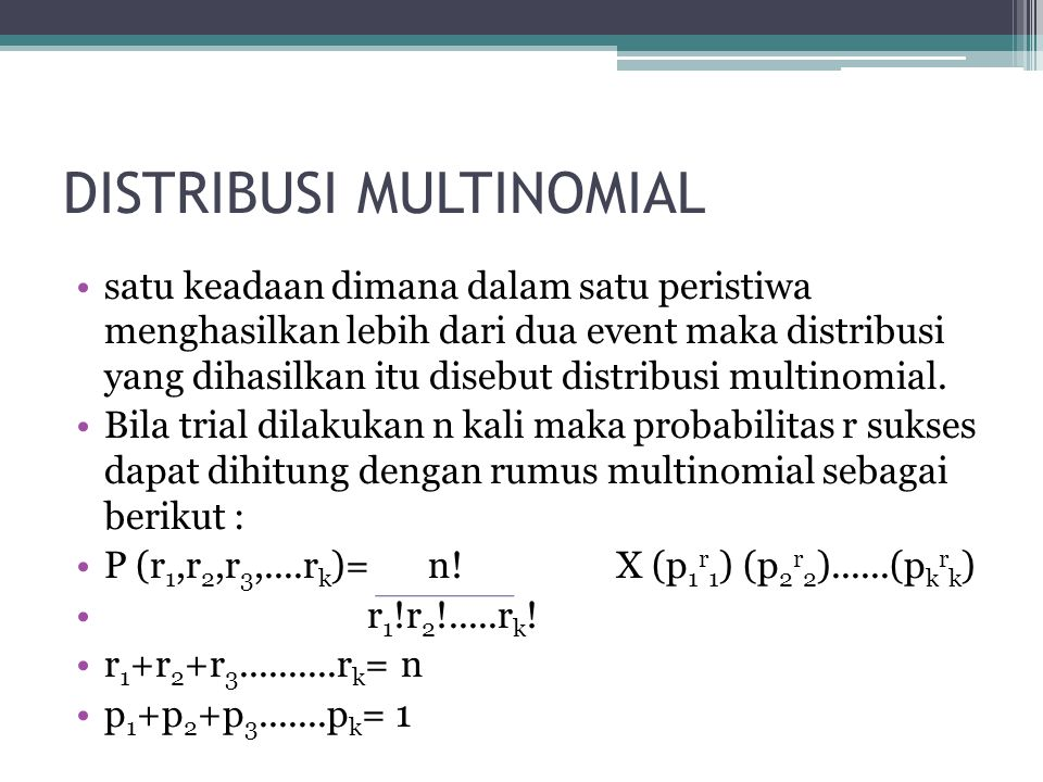 •Selain memakai rumus binomial, permasalahan ini juga dapat dikerjakan dengan memakai tabel binomial, caranya adalah dengan menentukan n.misalnya dari