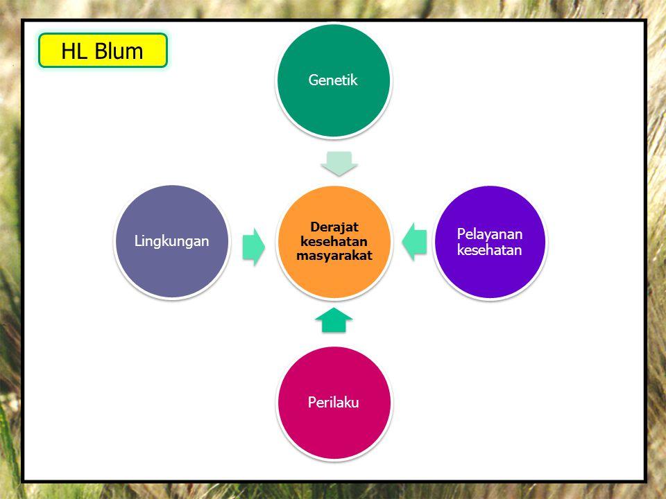 •Penyakit berbasis lingkungan dapat dicegah atau dikendalikan •Kondisi lingkungan terkait penyakit dihilangkan