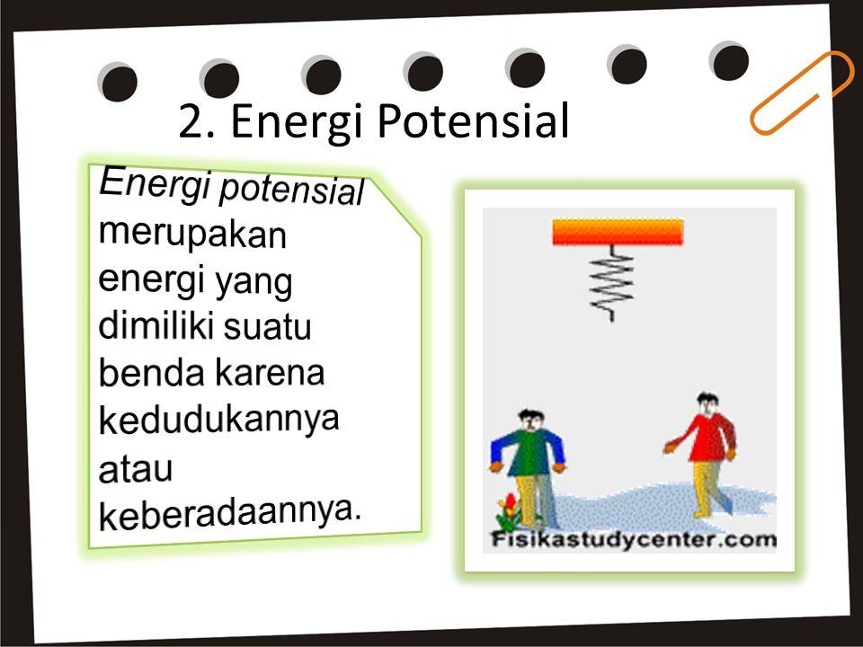 2. Energi Potensial