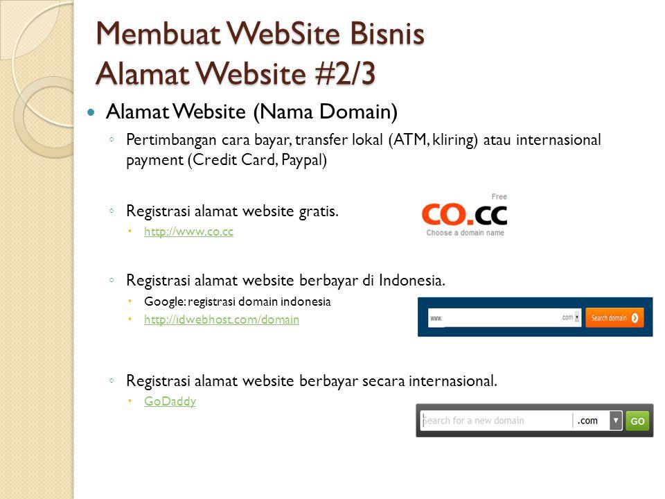 Keunggulan Website http://www.BisniskuMantap.com #7/7