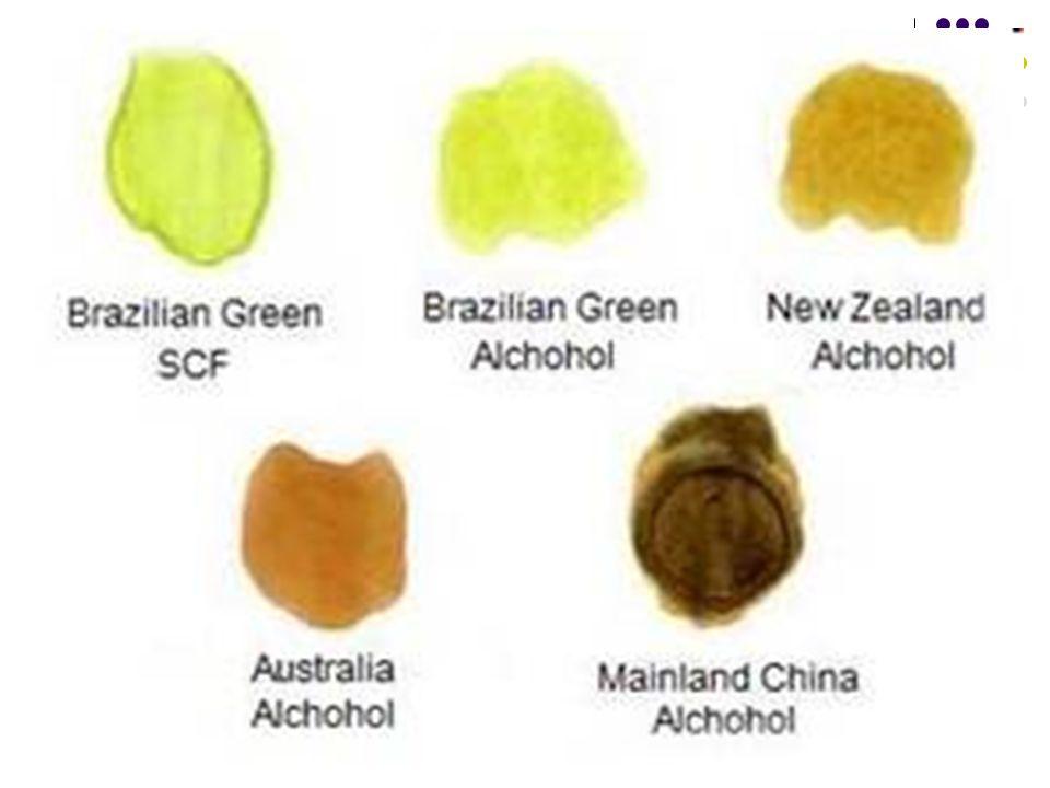 4.Warna •W•Warna Propolis sangat Mempengaruhi Kualitasnya.