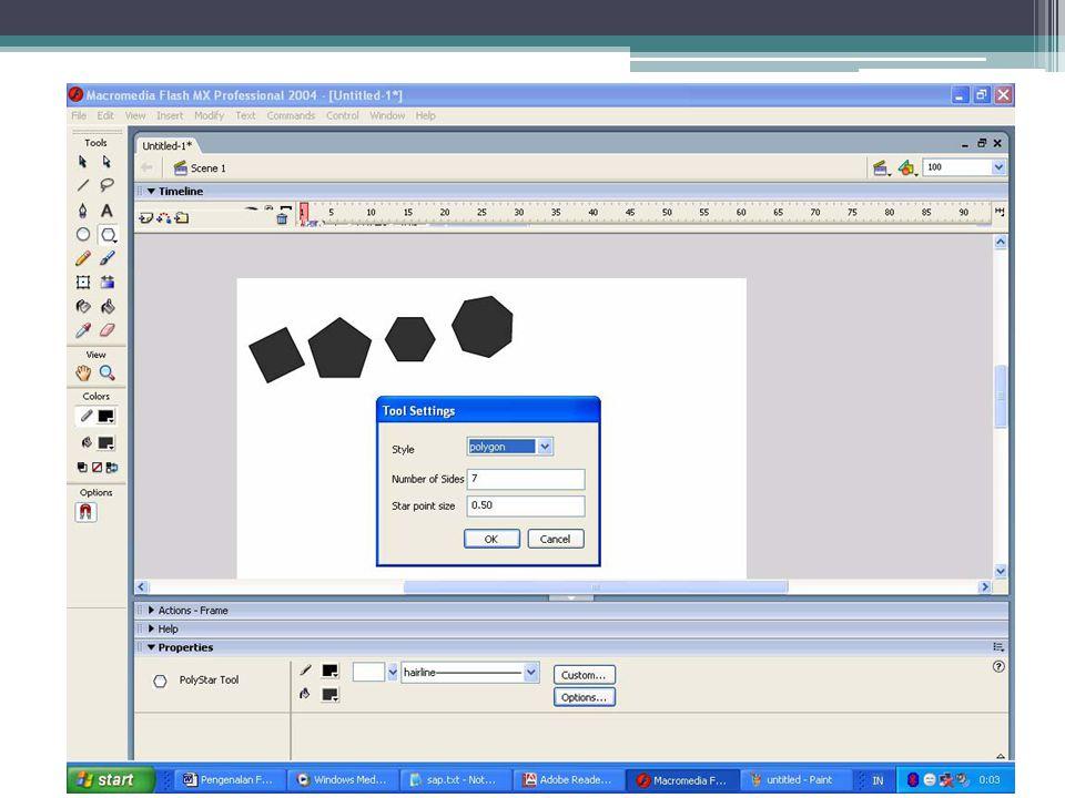 •Pen Tool(P) Tool ini berfungsi untuk menggambar path yang presisi dengan garis lurus atau lengkung.