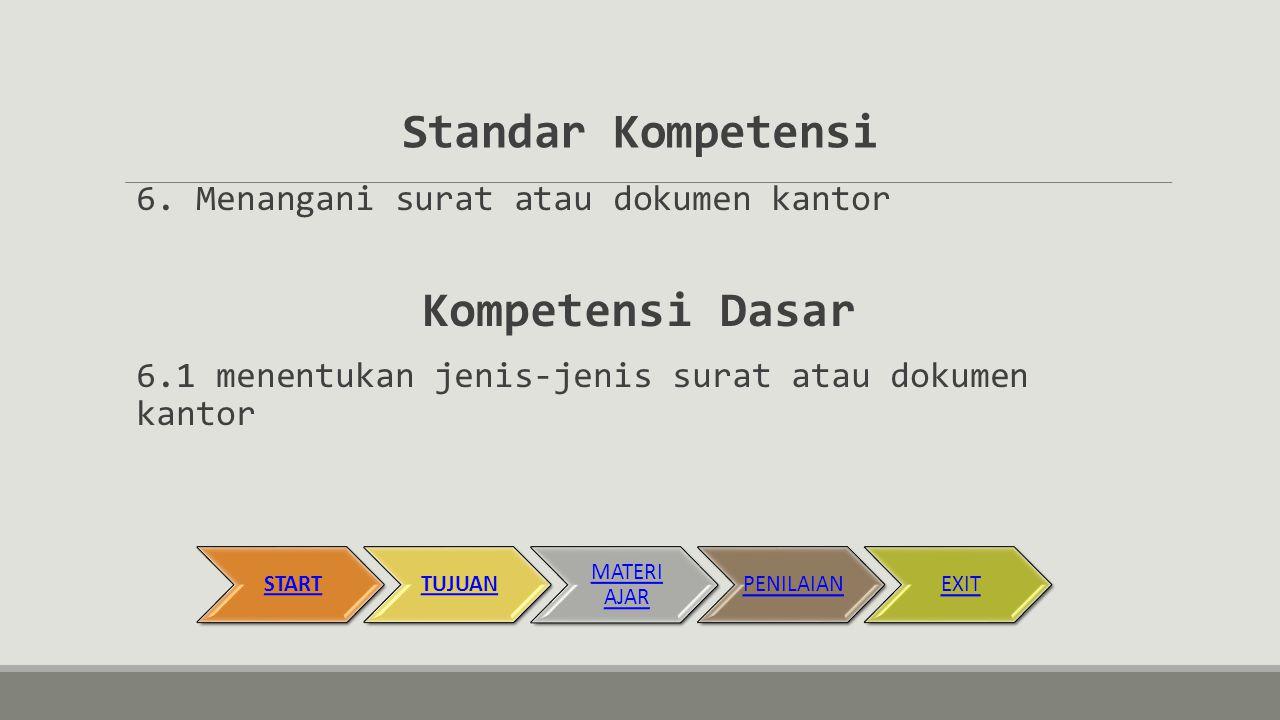 STARTSK/KDTUJUANMATERI AJARPENILAIANEXIT
