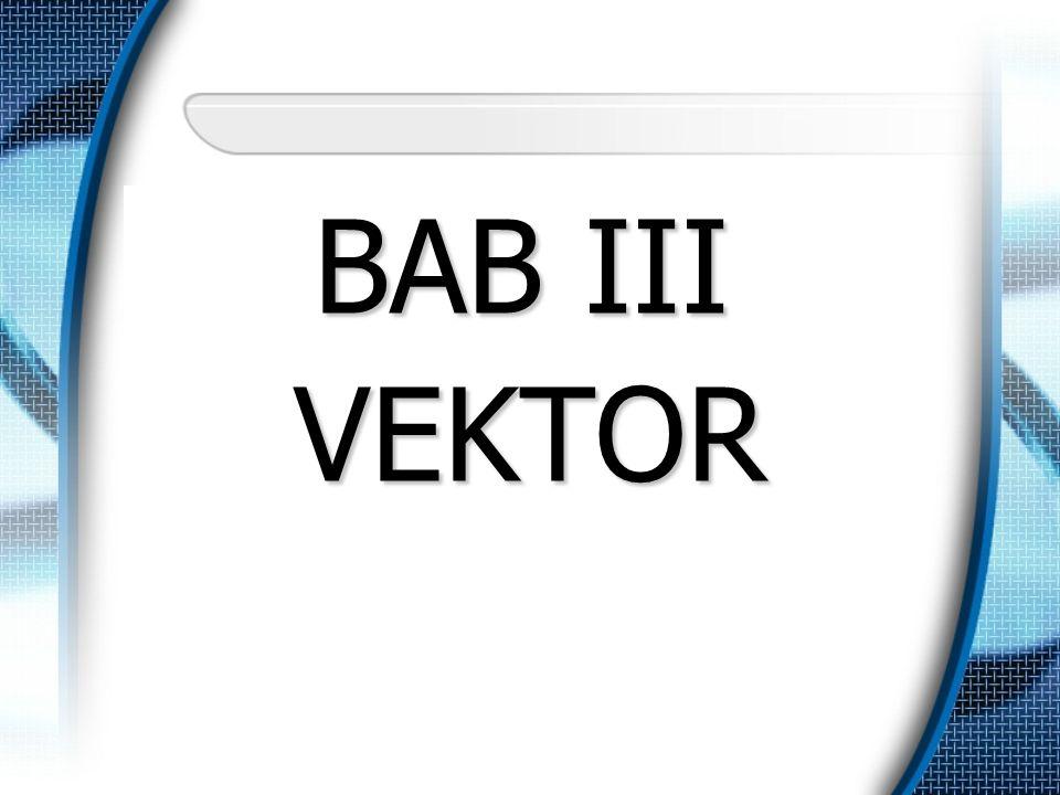 BAB III VEKTOR