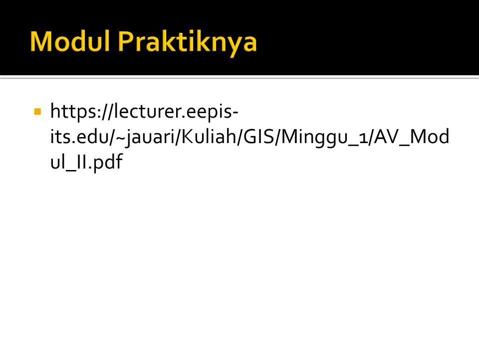  https://lecturer.eepis- its.edu/~jauari/Kuliah/GIS/Minggu_1/AV_Mod ul_II.pdf