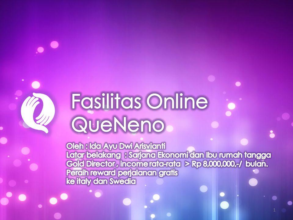 • Bergabung Oriflame bersama komunitas bisnis QueNeno.