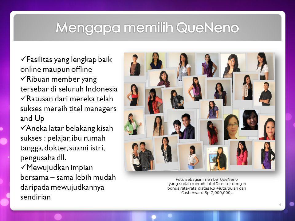  Fasilitas yang lengkap baik online maupun offline  Ribuan member yang tersebar di seluruh Indonesia  Ratusan dari mereka telah sukses meraih titel