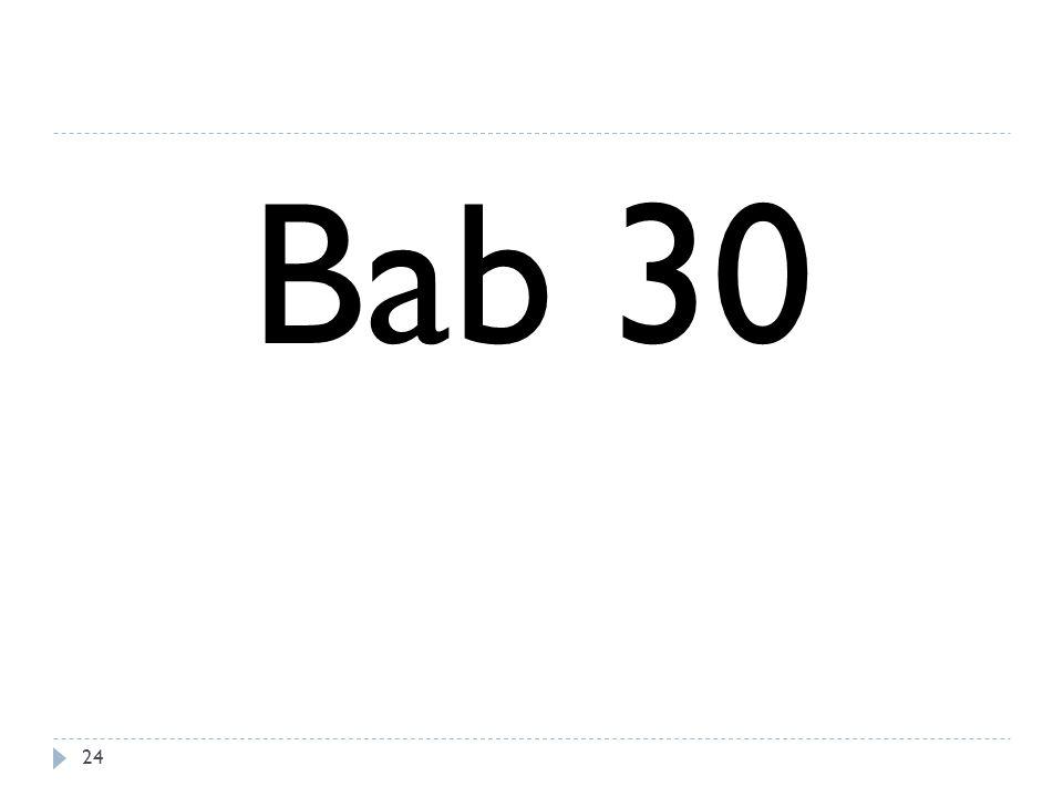 Bab 30 24