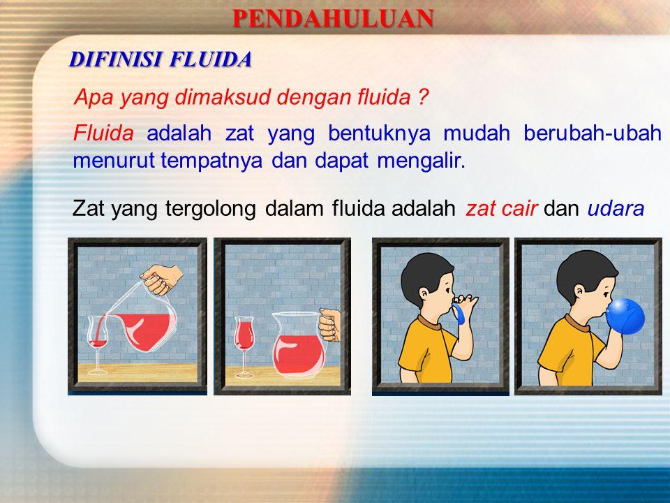 PENDAHULUAN Apa yang dimaksud dengan fluida .