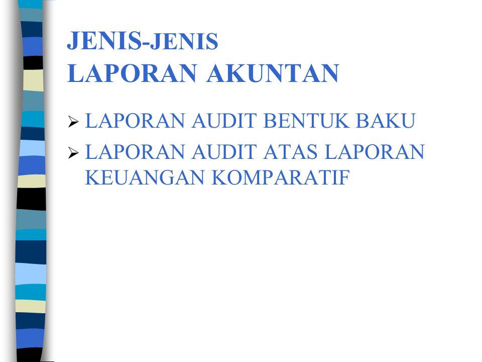  Pernyataan bahwa audit meliputi : 1.