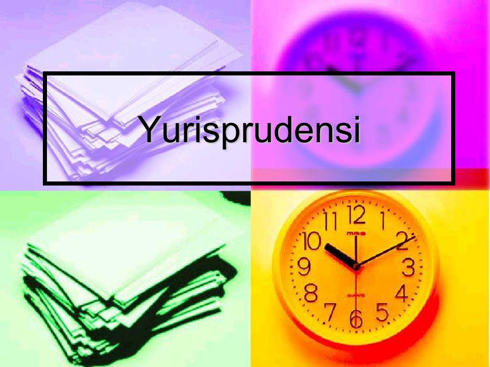 Yurisprudensi