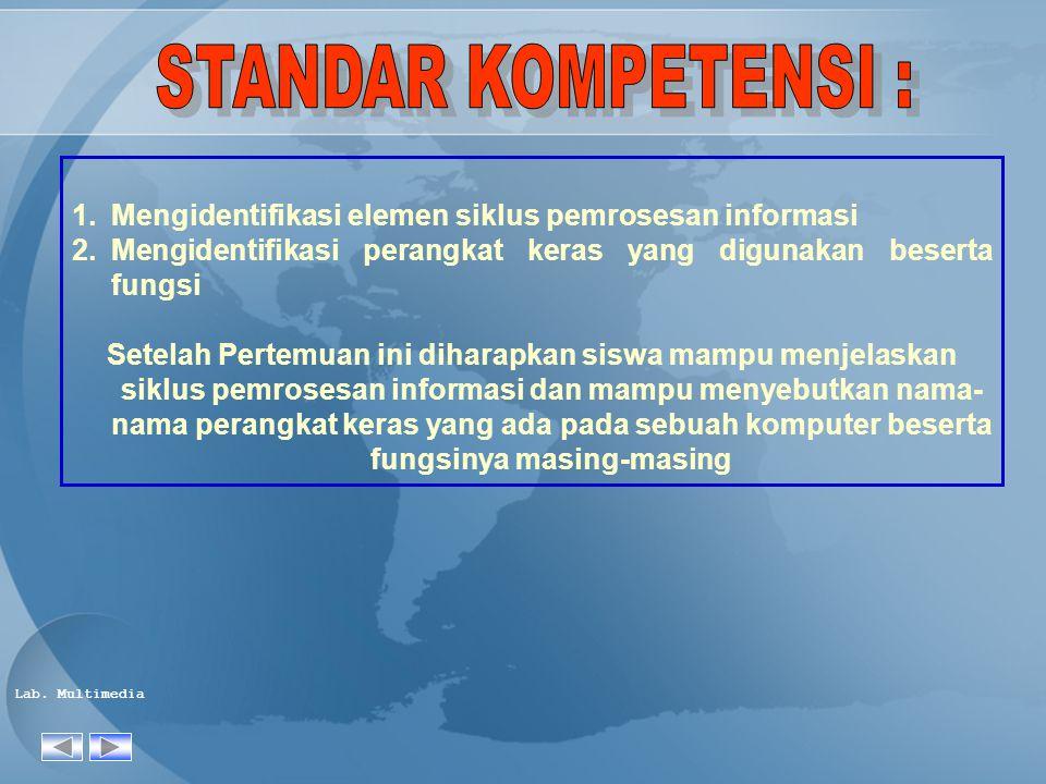 Lab.Multimedia Irwansyah, Arif, Tutorial Merakit Komputer, Kuliah Pengantar IlmuKomputer.com.