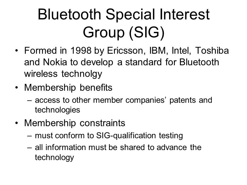 Penjelasan •Bluetooth radio: –lapisan terendah dari spesifikasi Bluetooth.