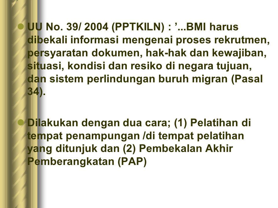 -Materi informasi terbatas yang berkaitan dengan pekerjaan.
