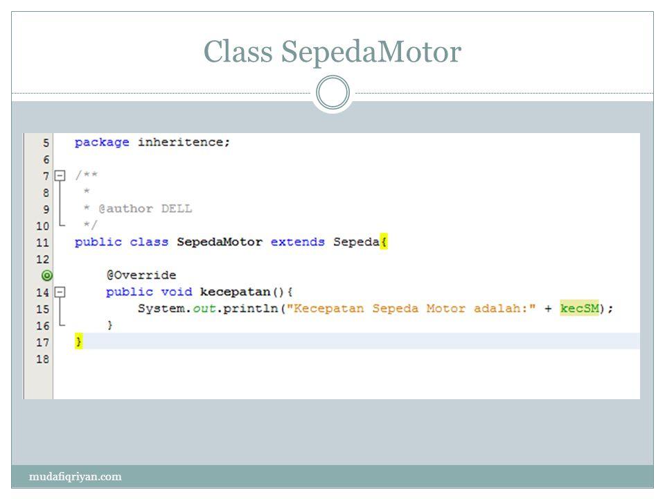 Abstrac class mudafiqriyan.com