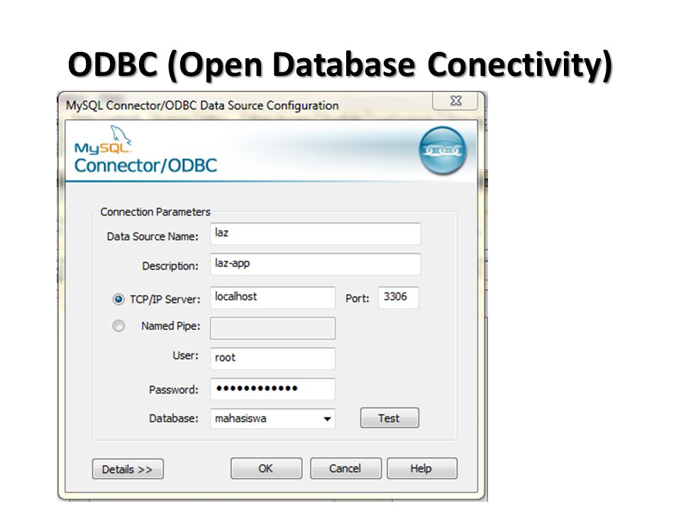 Implementasi ODBC TODBCConnection TSQLTransaction TSQLQuery