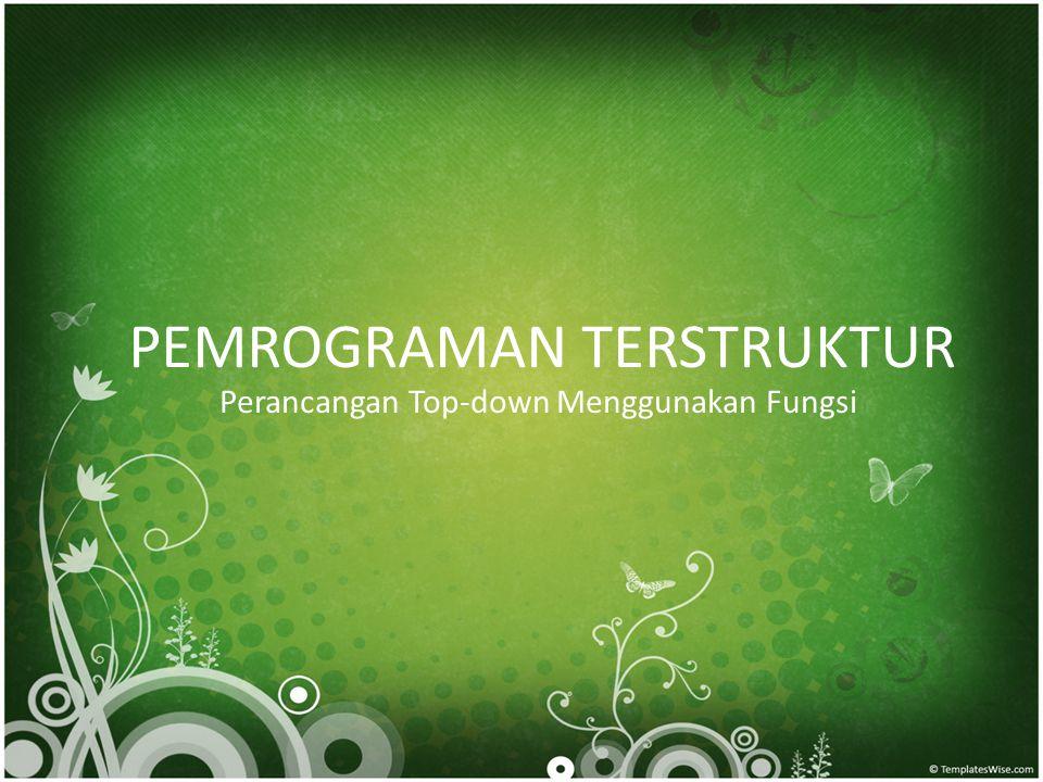 Pemrograman Terstruktur.