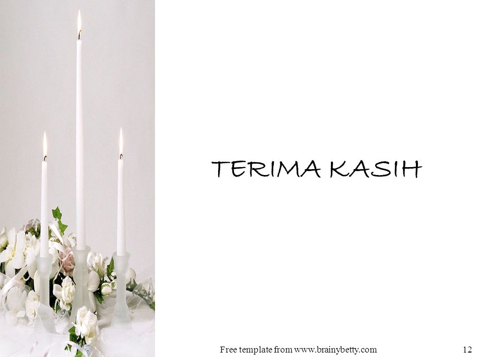 TERIMA KASIH Free template from www.brainybetty.com12