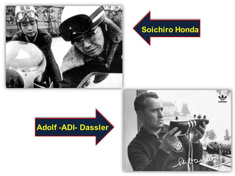Soichiro Honda Adolf -ADI- Dassler